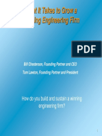 Starting and Growing a Winning Engineering Firm 2-13-07