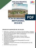 Exposición Pdi 2015-2018