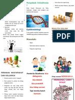 Leaflet Penyuluhan Skizofrenia