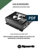 Manual de Instrucoes Fonte Chaveada Usina 60A-14,4V