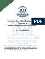 IBIA MFM SOP for Surveyor Final Copy 2
