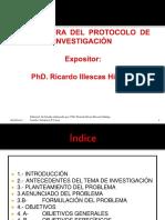 Estructura del Protocolo de Investigación