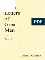 Love Letters of Great Men - Kirkland, John C