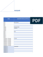 1 Home Inventory Template ES1 (1)