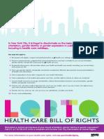 LGBTQ Bill of Rights Poster