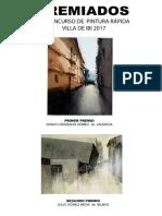 Premiados Concurso Pintura Rápida 2017