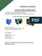 Svc Engineering Profile