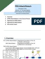 GPRS Attach Detach