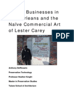 Corner Businesses in New Orleans and the Naïve Commercial Art of Lester Carey