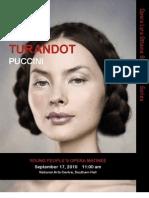 Turandot Study Guide