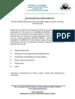 Acta de Posesion La Rivera