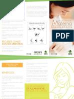 Plegable Lactancia Materna 20141