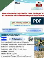 157_081110 RA103 UMA El Salvador Turismo y Medio Ambiente