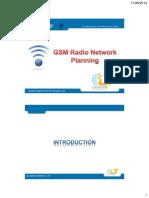 GSM Radio Network Planning