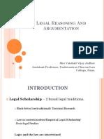 00. V_Legal Reasoning and Argumentation