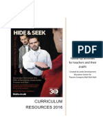 Hide and Seek 2016 Curriculum Resources FINAL