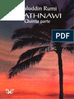 Al Din Rm Mawlana Jalal - Mathnawi 05
