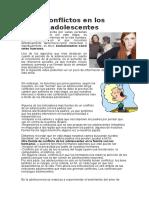 Conflictos en Los Adolescentes