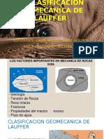 La Clasificación Geomecánica de Lauffer