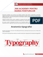 Anatomia Tipografiei