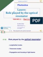 [Theory(1) Lasers(Chap 2.1.3)]