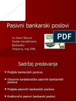 Pasivni bankarski poslovi