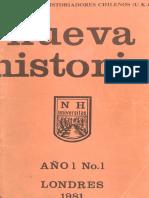 Revista Nueva Historia
