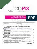Reglamento de La Ley de Los Derechos de Las Personas Jóvenes en La Ciudad de México