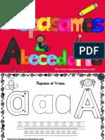 Cudernillo Para Repasar El Abecedario Lectura y Trazo PDF 1 15