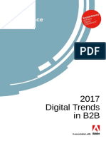 Adobe 2017 B2B Digital Trends