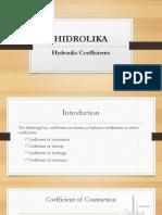 5b. HIDROLIKA - Koefisien Hidraulik