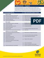 Child Development Milestones - 4 Year old.pdf
