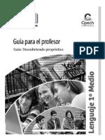 GPR Descubriendo Propósitos - Primero Medio