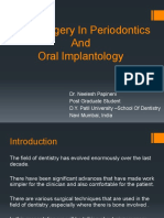 Piezosurgery in Periodontics and Oral Implantology