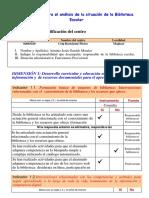 Cuestionario Para El Análisis de La Situación de La Biblioteca Escolar 2016-2017