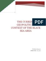 Contextul Geopolitc Actual in Zona Marii Negre