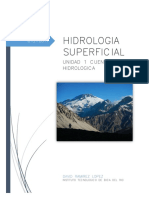 UNIDAD 1 HIDROLOGIA SUPERFICIAL