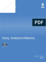 Training - Introduction to Webservices