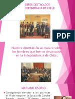 Hombres Destacados en La Independencia de Chile 2