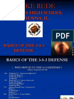 Basics of the 3-5-3 Defense
