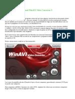 Manual WinAVI Video Converter 9