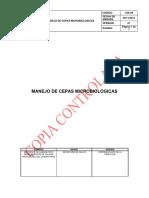 I-sa-08 Manejo de Cepas Microbiologicas v1