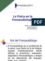 CÁTEDRA - [UCINF] La Física en La Fonoaudiología