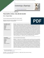 Pancreatitis Cronica Alcholismo