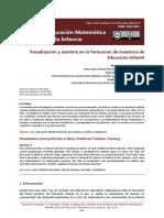 Visualizacion Y Simetria En La Formacion De Maestros