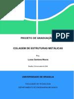 Projeto de Graduação - Colagem de Estruturas Metálicas