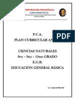 Ciencias Naturales 8vo-10mo planificaciones