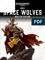 Warhammer 40000 - Codex - Space Wolves Wulfen Edition 7th Ed