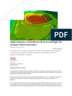 Tecnologia Laser Para Mineria Subterranea