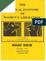 PoliticalEconomyofWomensLiberation-1969-MargaretBenston